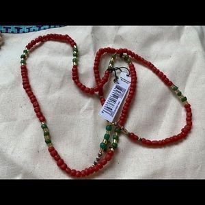 NWT Cocobelle Red Necklace/Bracelet ❤️